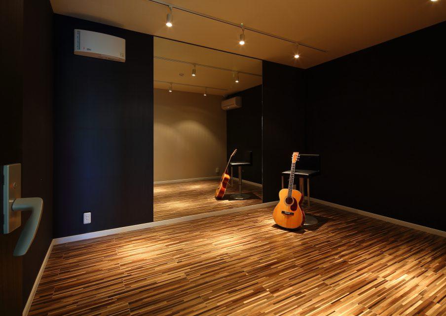 シン・空間研究所の「音楽室のある家」事例写真
