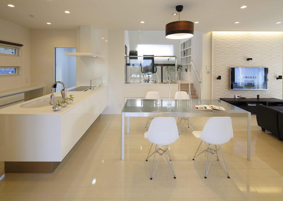 シン・空間研究所の「白の美しさと温かみにこだわった家」事例写真