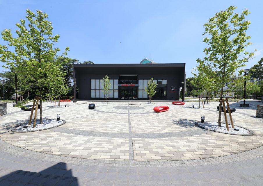 シン・空間研究所の「平成音楽大学 学食棟」事例写真